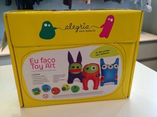 Brinquedo Educativo de Artesanato Eu Faço Toy Art