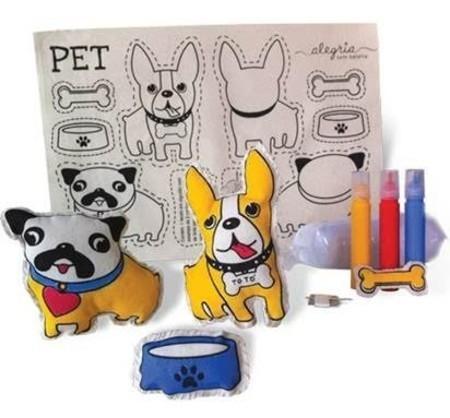 Brinquedo Educativo de artesanato Meus Pets