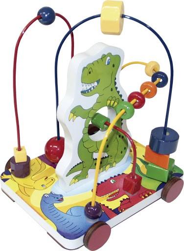 Brinquedo Educativo de Madeira Aramado Animais Dinossauro