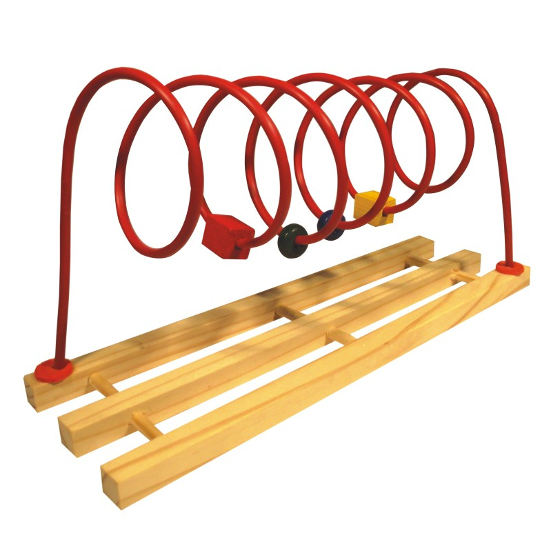 Brinquedo Educativo de Madeira Aramado Espiral