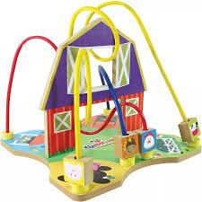 Aramado Fazenda Brinquedo Educativo de Madeira