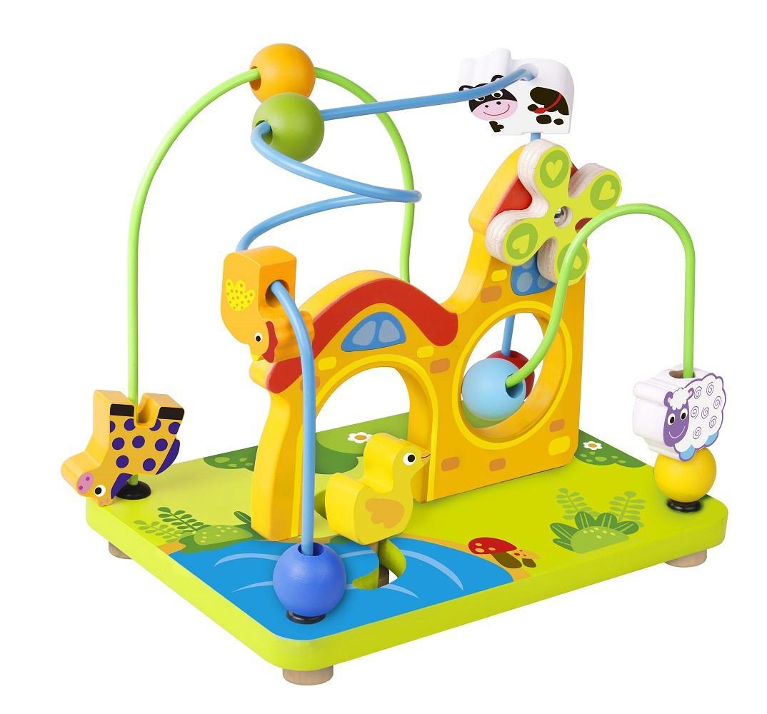 Brinquedo Educativo de Madeira Aramado Fazenda