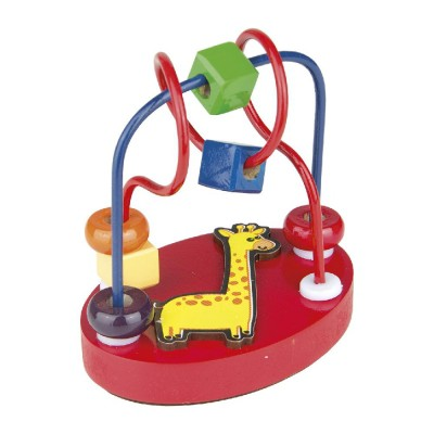 Brinquedo Educativo de Madeira Aramado Mini Girafa