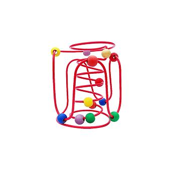 Brinquedo Educativo de Madeira Aramado Montanha Russa Baby 2