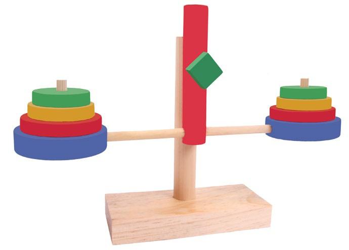 Brinquedo Educativo de Madeira Balancinha
