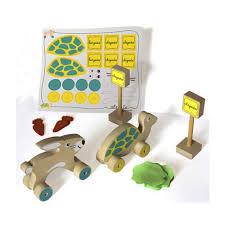 Brinquedo Educativo de Madeira Corrida da Alegria