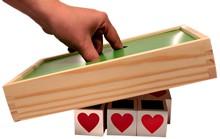 Brinquedo Educativo de Madeira Cubos de Memória