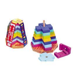 Brinquedo Educativo de Madeira de Encaixar Encaixe de Formas