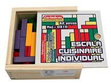 Brinquedo Educativo de Madeira Escala Cuisinaire Individual