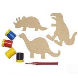 Brinquedo Educativo de Madeira Imas Divertidos Dinossauros