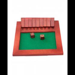 Brinquedo Educativo de Madeira Jogo Fecha a Caixa