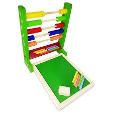 Brinquedo Educativo de Madeira Lousa Quadro Fun