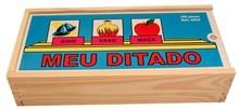 Brinquedo Educativo de Madeira Meu Ditado
