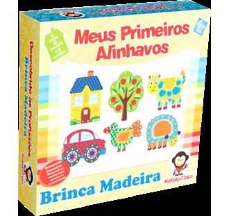 Brinquedo Educativo de Madeira Meus Primeiros Alinhavos