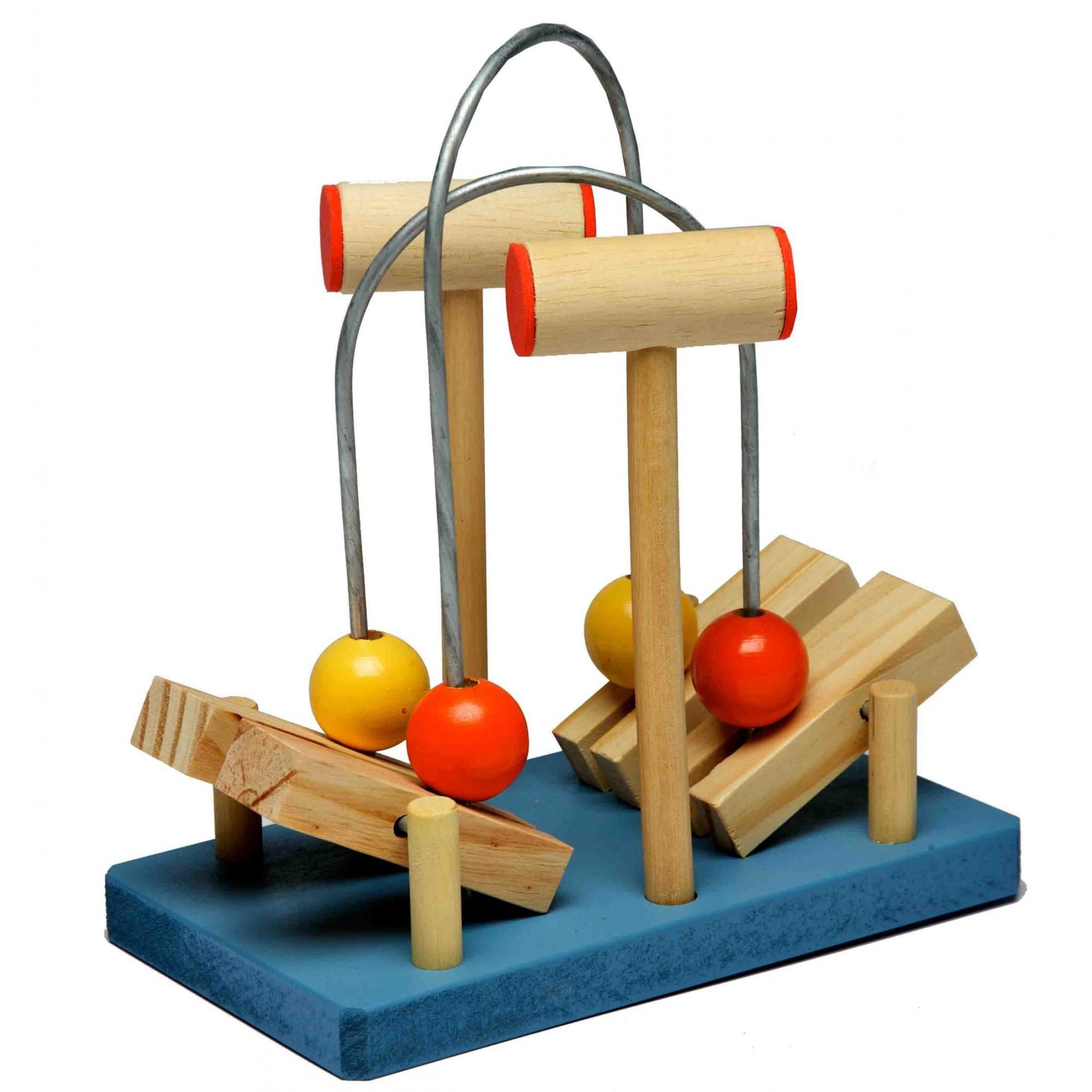 Brinquedo Educativo de madeira Super Vai e Vem