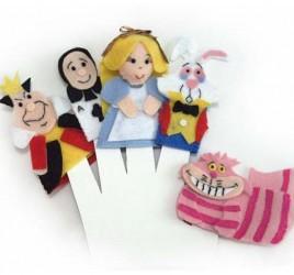 Brinquedo Educativo Dedoches Alice no País das Maravilhas