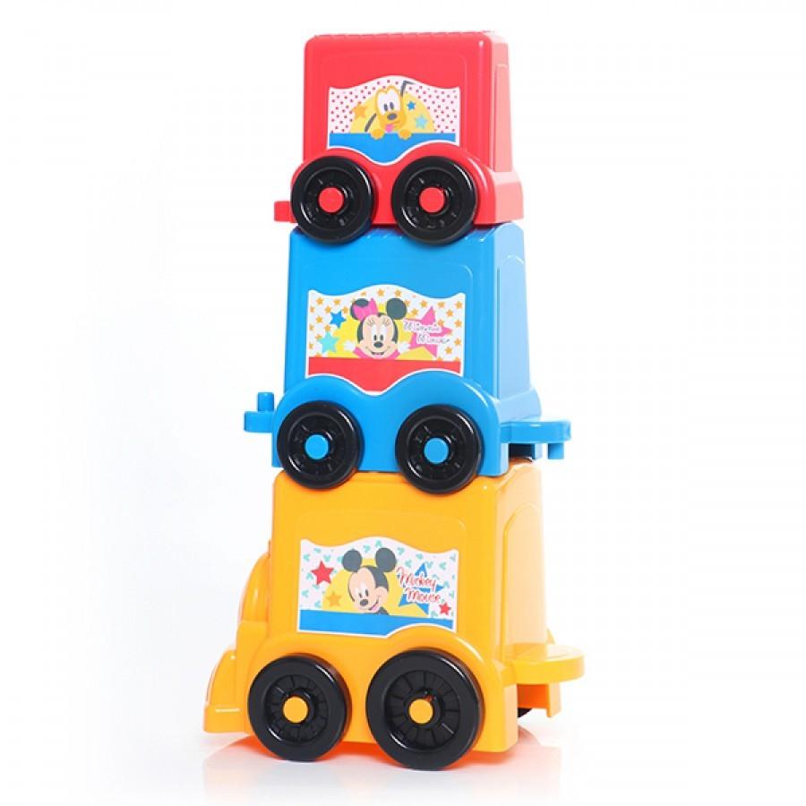 Brinquedo Educativo Empilha Carrinho Disney