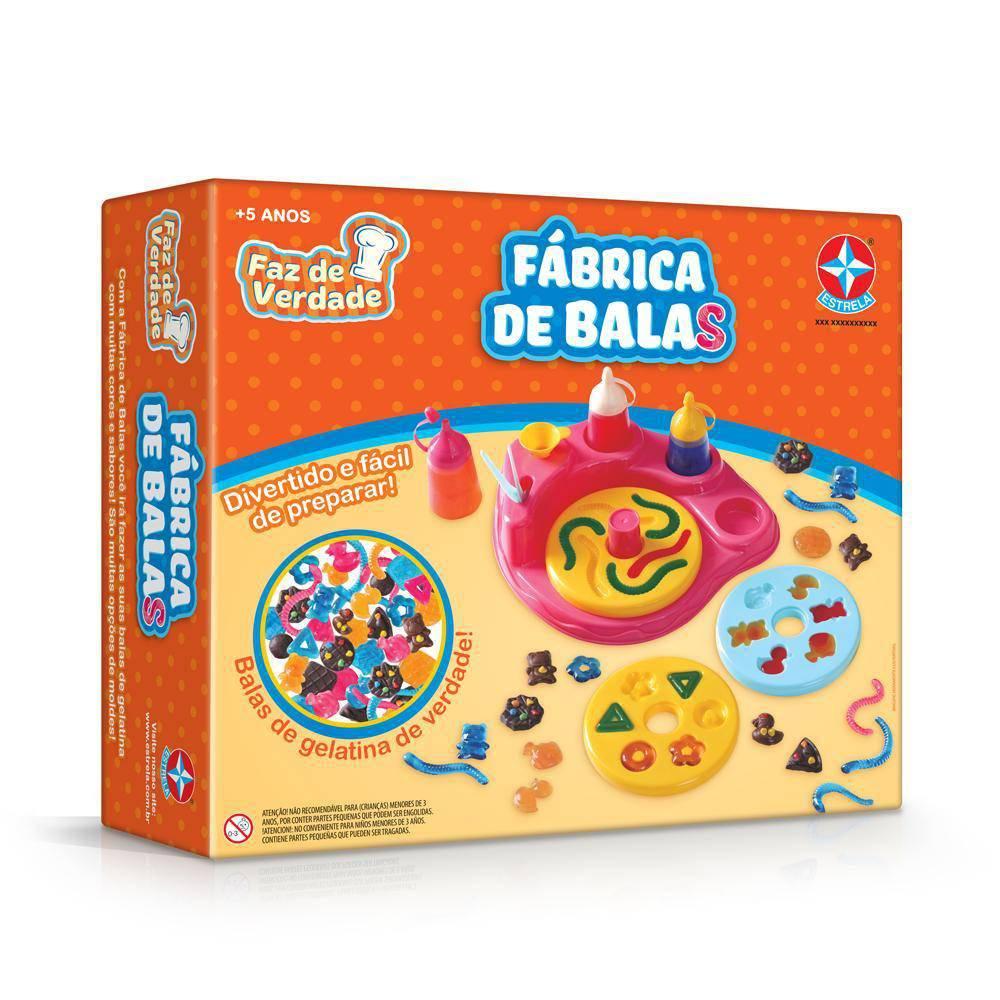 Brinquedo Educativo Fábrica de Bala Estrela