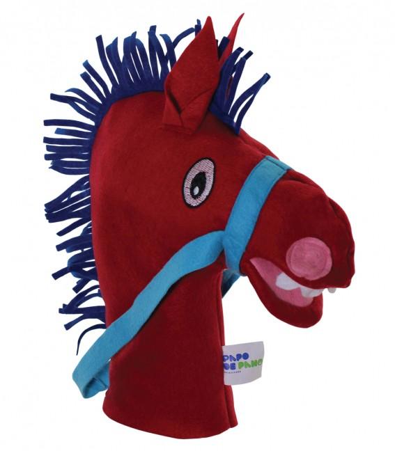 Brinquedo Educativo Fantoche de Mão Cavalo
