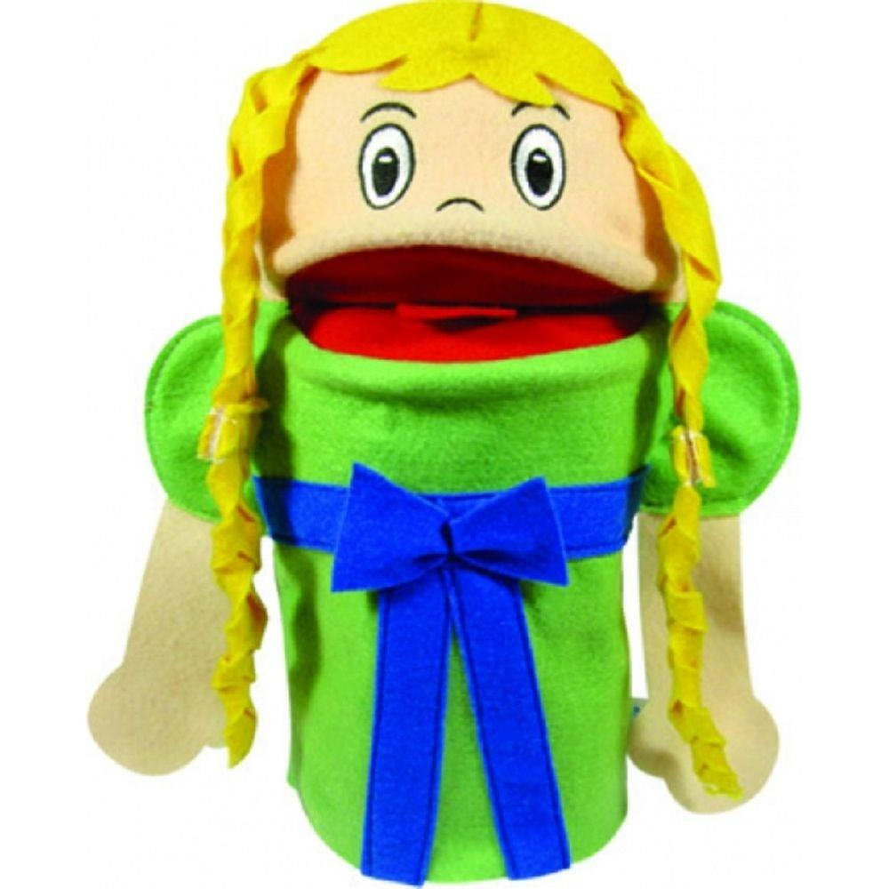 Brinquedo Educativo Fantoche de Mão Rapunzel