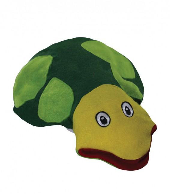 Brinquedo Educativo Fantoche de Mão Tartaruga
