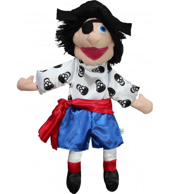Brinquedo Educativo Fantoche Fantochão Personagens Pirata