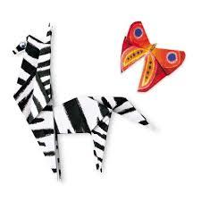 Brinquedo Educativo Kit Artesanato Origami Safári
