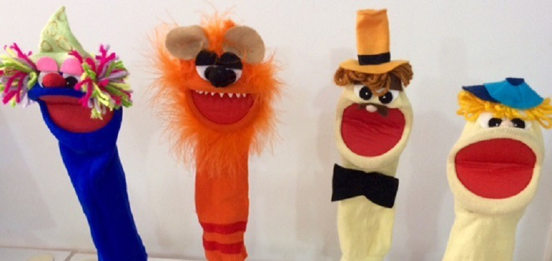 Brinquedo Educativo Kit Fantoches de Meia Circo