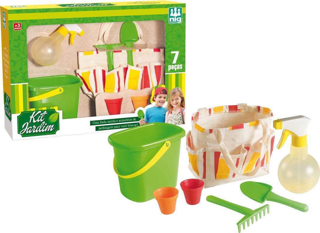 Brinquedo Educativo Kit Jardim