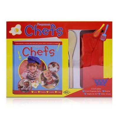 Brinquedo Educativo Livro Pequenos Chefs