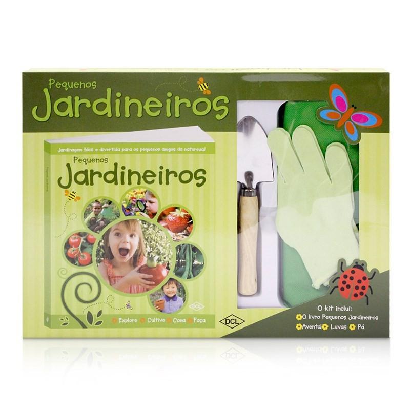 Brinquedo Educativo Livro Pequenos Jardineiros