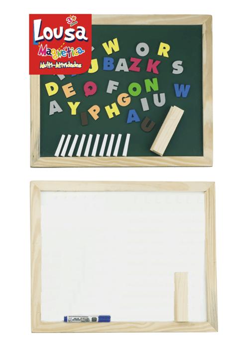 Brinquedo Educativo Lousa Magnética Alfabeto