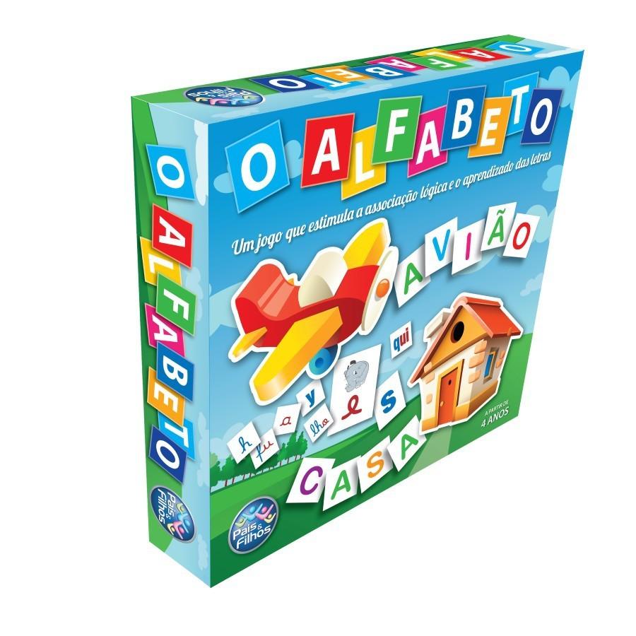Brinquedo Educativo O Alfabeto Escolar