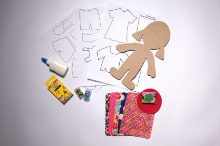 Brinquedo Educativo para Customização Bela Fashion