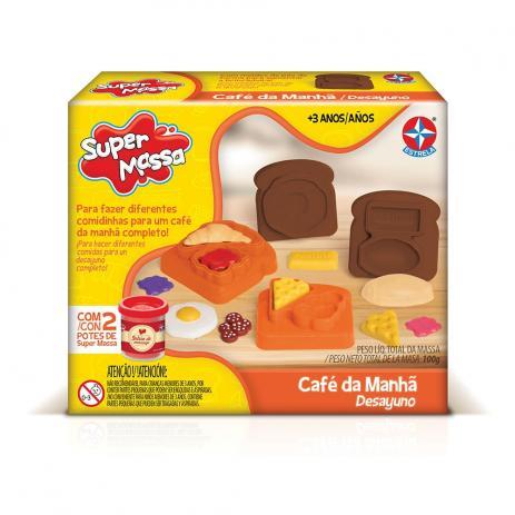 Brinquedo Educativo Super Massa Café da Manhã Estrela