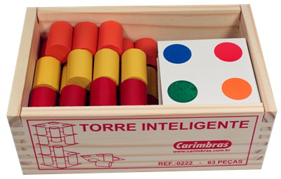 Brinquedo Educativo Torre Inteligente