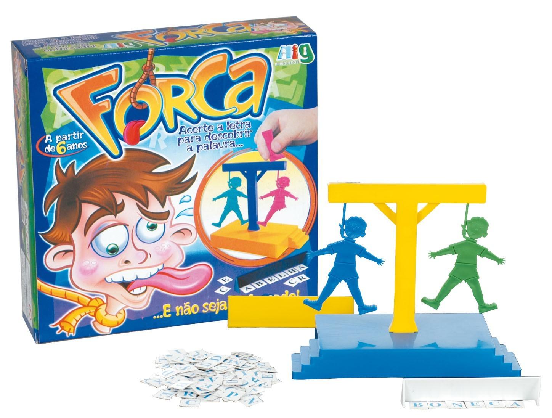 Brinquedo Educativo Tradicional Jogo da Forca