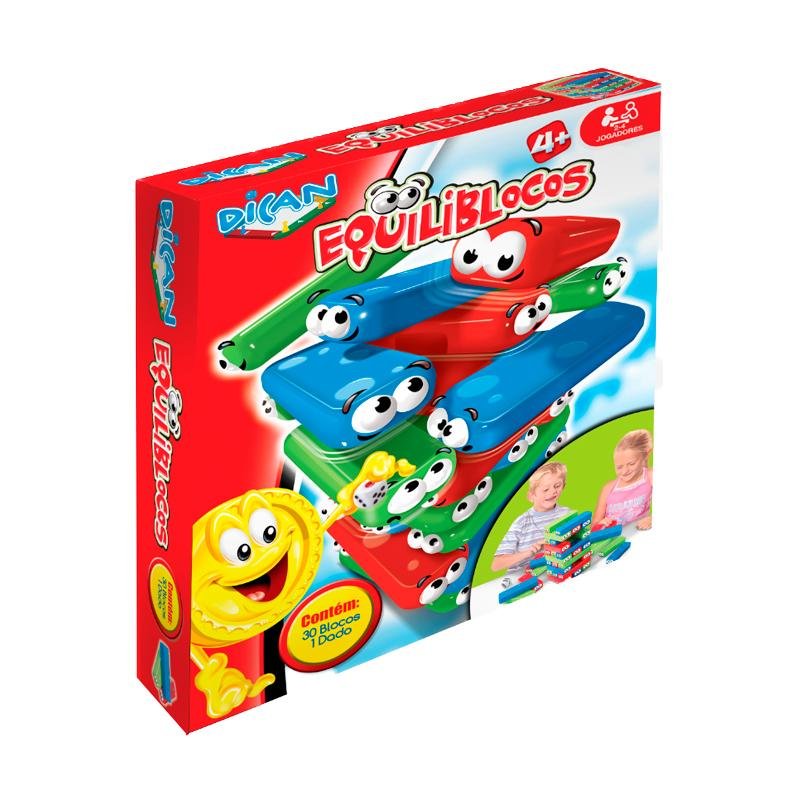 Brinquedo Equiliblocos Dican
