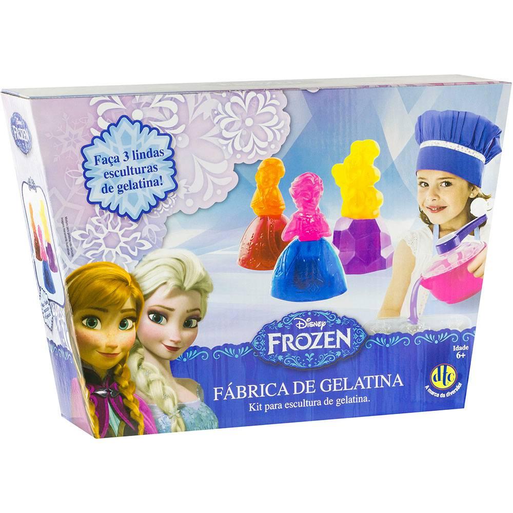 Brinquedo Fábrica de Gelatina Disney Frozen