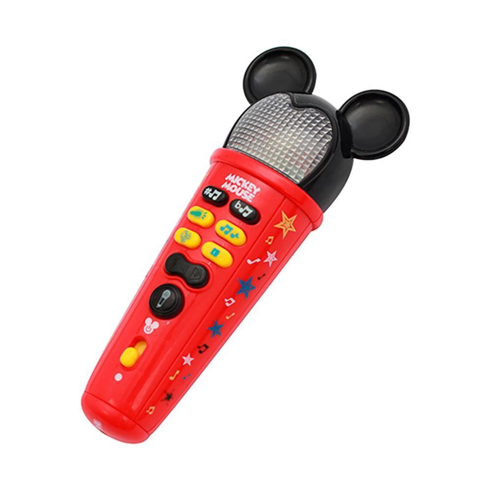 Brinquedo Microfone Mickey Rock Star Dican.