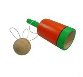 Brinquedo Tradicioal de Madeira Bilboquê Copo