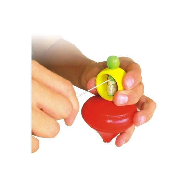 Brinquedo Tradicional de Madeira Pião