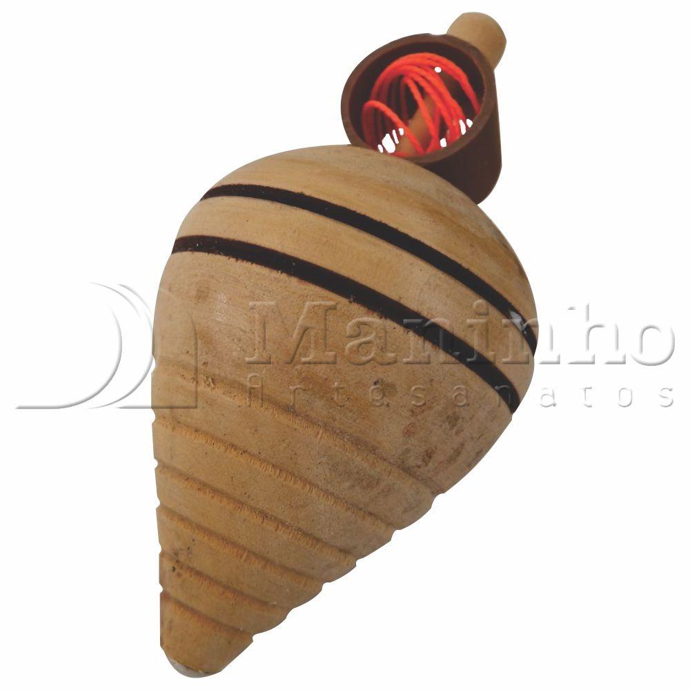 Brinquedo Tradicional de Madeira Piao