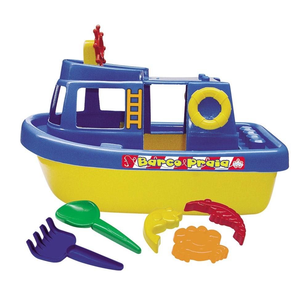 Brinquedos de Areia Barco Praia