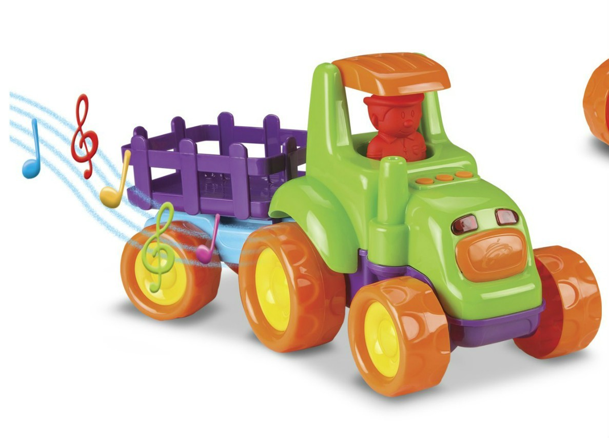 Caminhão Baby Truck Tratores Sortidos Roma Jensen