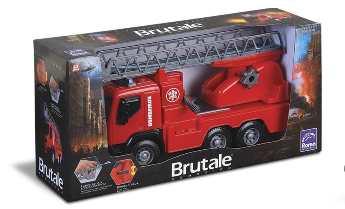 Caminhão Brutale Bombeiro Roma Jensen