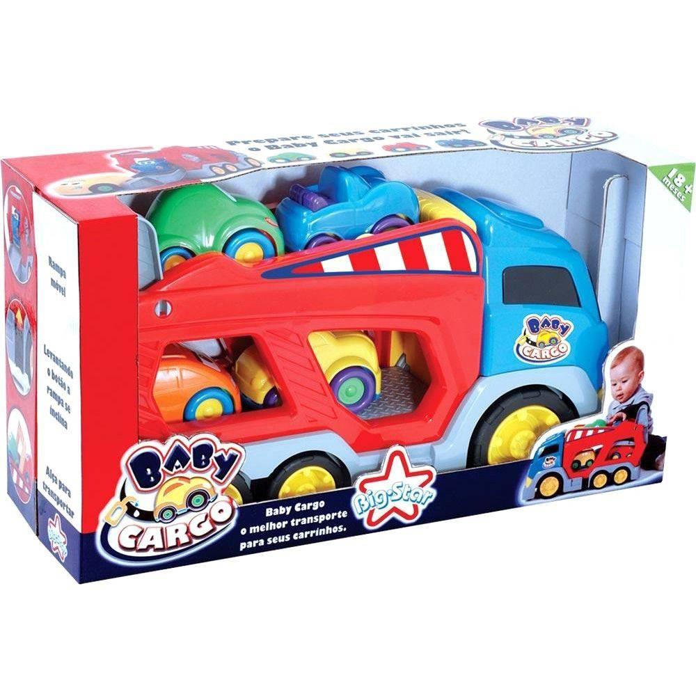 Caminhão Cegonha Baby Cargo Big Star