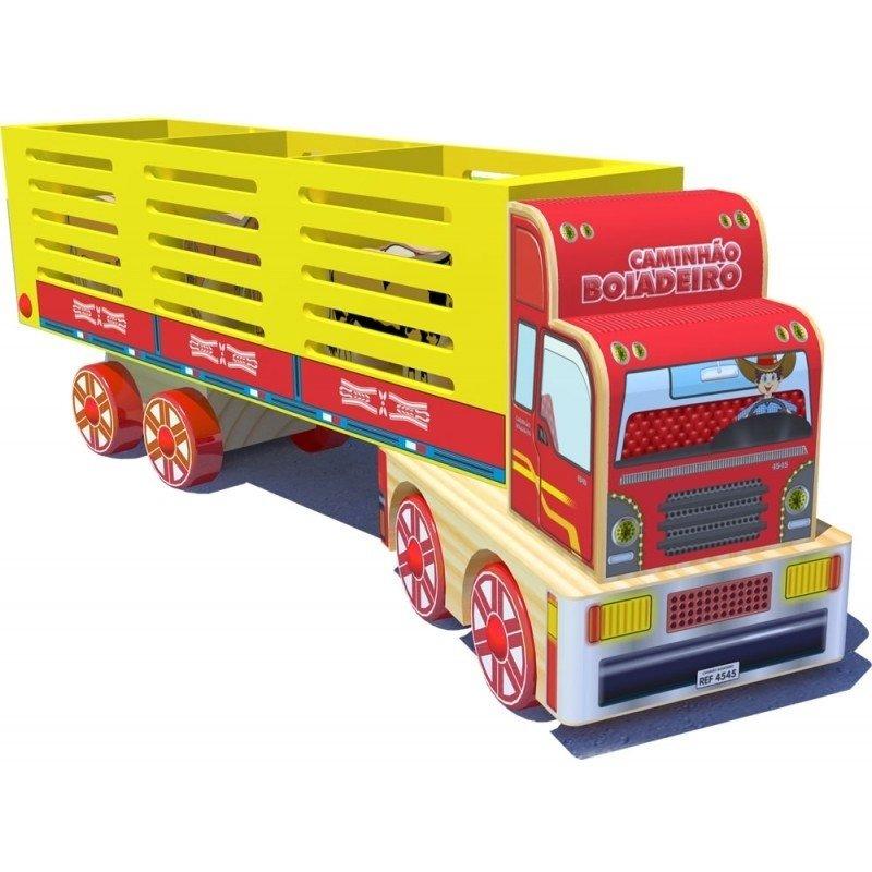 Caminhão de Madeira Caminhão Boiadeiro