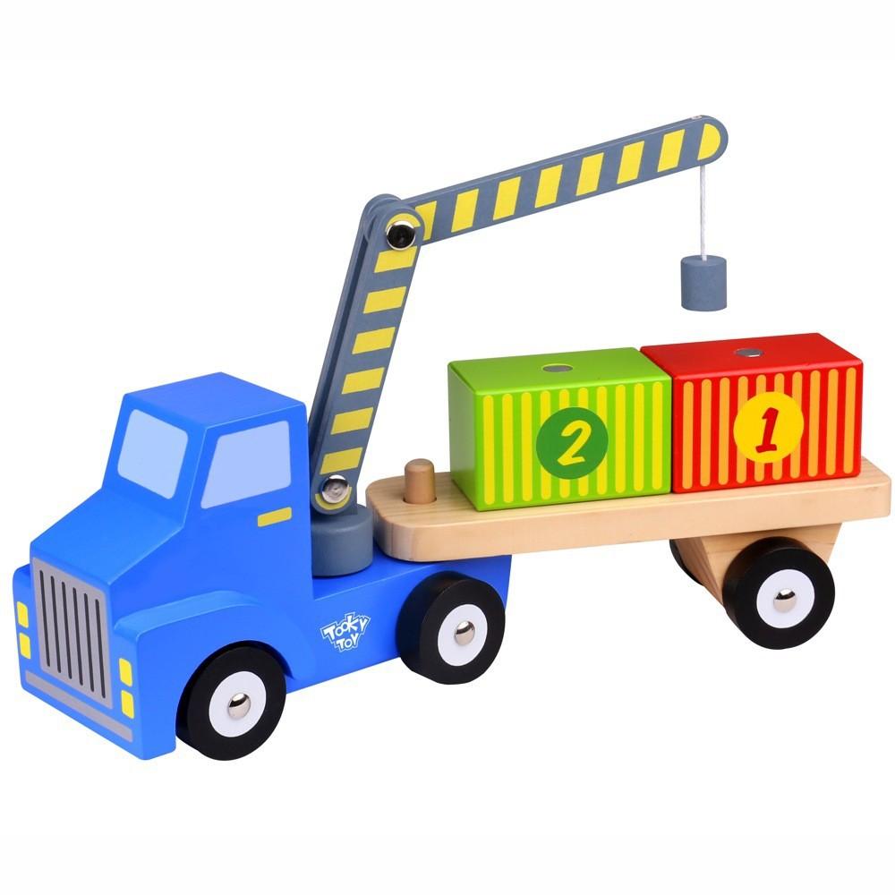 Caminhão de Madeira Caminhão Container