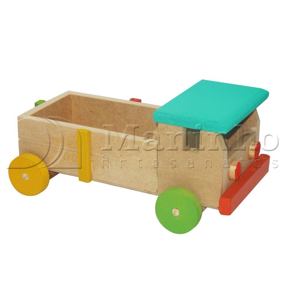 Caminhão de Madeira Caminhão M